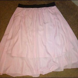 Light Pink LulaRoe Lola Skirt